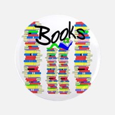 "Books 3.5"" Button"