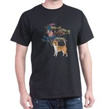 USA Flag Beagle T-Shirt