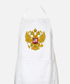 Russia Coat Of Arms BBQ Apron