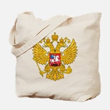 Russia Coat Of Arms Tote Bag