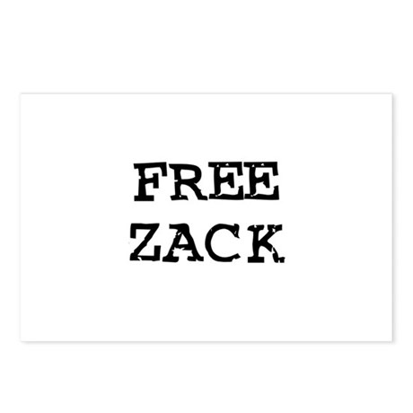 Free Zack Postcards (Package of 8)