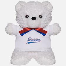 Retro Russia Teddy Bear