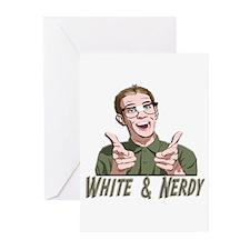 Weird Al Yankovic - White & Nerdy Greeting Cards (