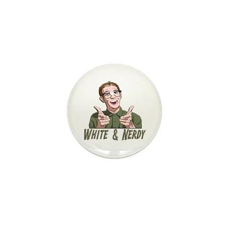 Weird Al Yankovic - White & Nerdy Mini Button (10