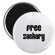 Free Zachary Magnet