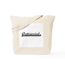 Softball Antisocial Tote Bag