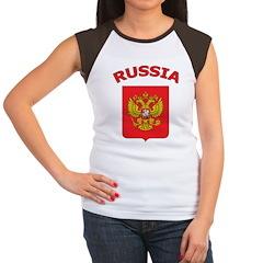 Russia Women's Cap Sleeve T-Shirt
