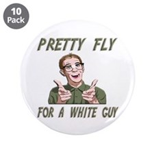 """Offspring - Pretty Fly For A White Guy 3.5"""" Button"""