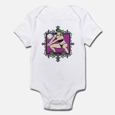 Aggressive Women's Volleyball Infant Bodysuit