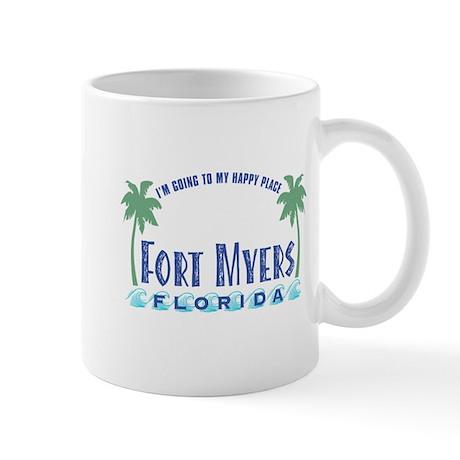Ft. Myers Happy Place - Mug