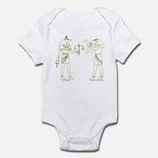 Anubis and Thoth Art II Infant Bodysuit