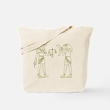 Anubis and Thoth Art II Tote Bag