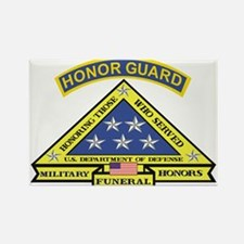 Honor Guard Rectangle Magnet (10 pack)