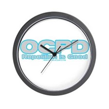 Repetition Is Good Wall Clock