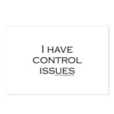 I Have Control Issues Postcards (Package of 8)