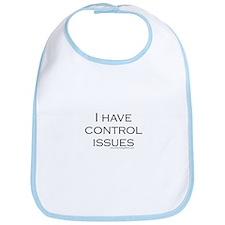I Have Control Issues Bib