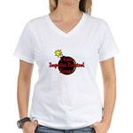 I Have Impulse Control Issues Women's V-Neck T-Shi