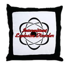 Intermittent Explosive Disord Throw Pillow