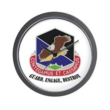 100th Missile Defense GMD Wall Clock