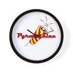 Pyromaniac Wall Clock