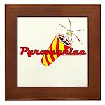 Pyromaniac Framed Tile
