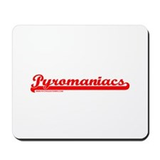 Softball Pyromaniacs Mousepad