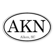 Aiken Oval Decal