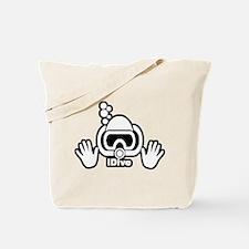 IDIVE SCUBA ORIGINAL Tote Bag