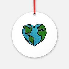 Earth Day Ornament (Round)
