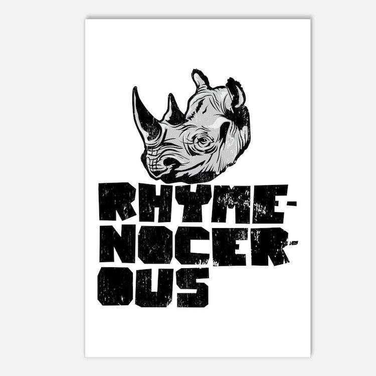 rhymenocerous graffiti Postcards (Package of 8)