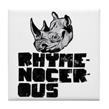rhymenocerous graffiti Tile Coaster