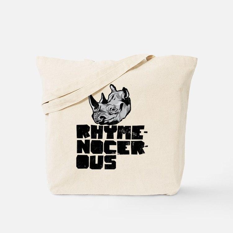 rhymenocerous graffiti Tote Bag