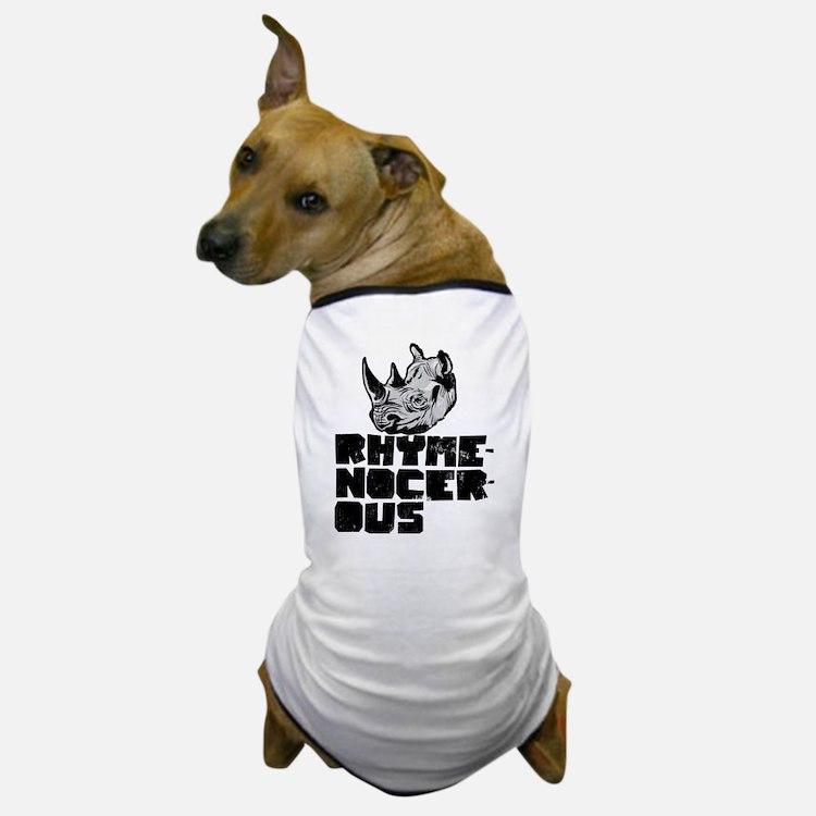 rhymenocerous graffiti Dog T-Shirt