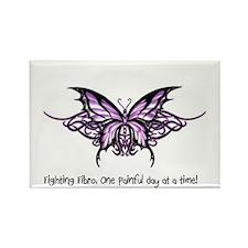 Cute Fibromyalgia Rectangle Magnet (10 pack)