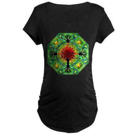 Mother Earth Maternity Dark T-Shirt