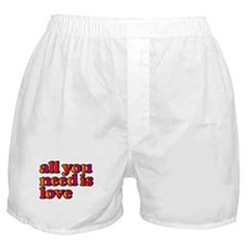 All You Need is Love Boxer Shorts