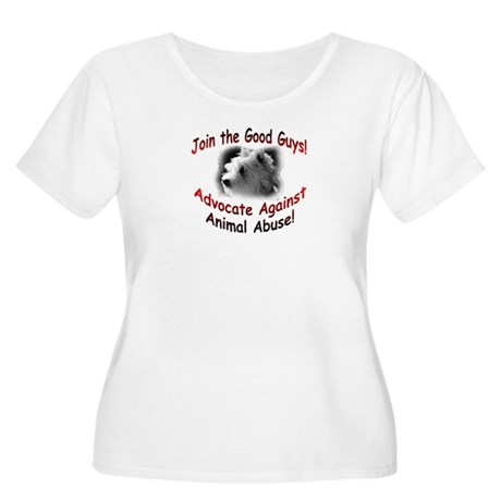 Join the Good Guys Women's Plus Size Scoop Neck T-