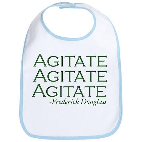 "Frederick Douglass ""Agitate!"" Bib"