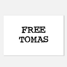 Free Tomas Postcards (Package of 8)