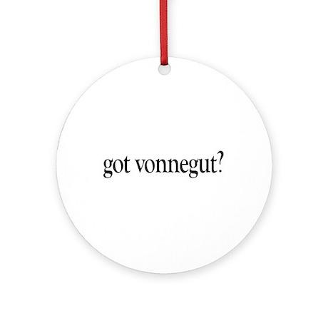 got vonnegut? Ornament (Round)
