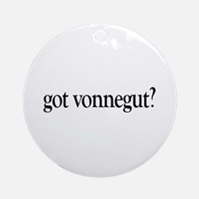 got vonnegut? Ornament (Round)