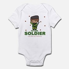 Future Soldier like Mommy Baby Onesie
