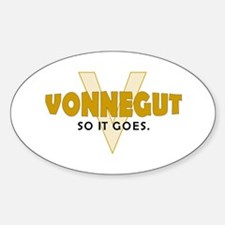 Vonnegut Oval Decal