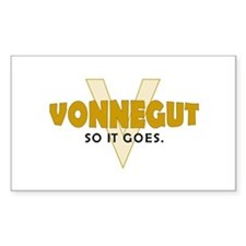 Vonnegut Rectangle Decal