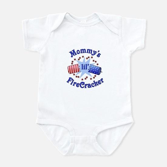 Mommy's Lil' Firecracker Infant Bodysuit