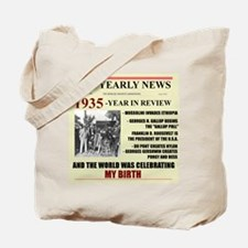born in 1935 birthday gift Tote Bag
