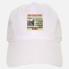 born in 1935 birthday gift Baseball Baseball Cap