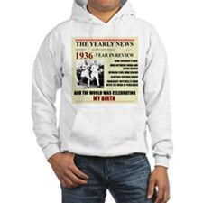born in 1936 birthday gift Hoodie