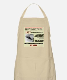 born in 1937 birthday gift BBQ Apron