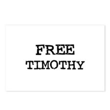 Free Timothy Postcards (Package of 8)